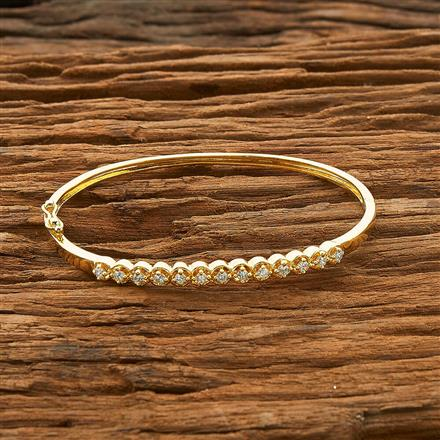 54465 CZ Delicate Kada with gold plating