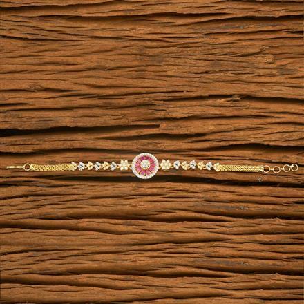 54550 CZ Classic Bracelet with 2 tone plating