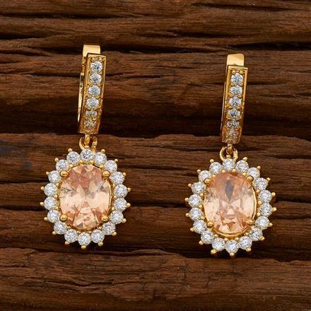 54737 American Diamond Bali with gold plating