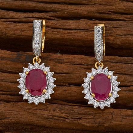 54738 American Diamond Bali with 2 tone plating