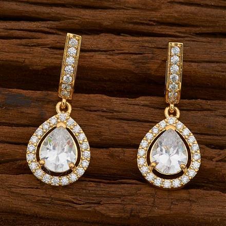 54739 American Diamond Bali with gold plating