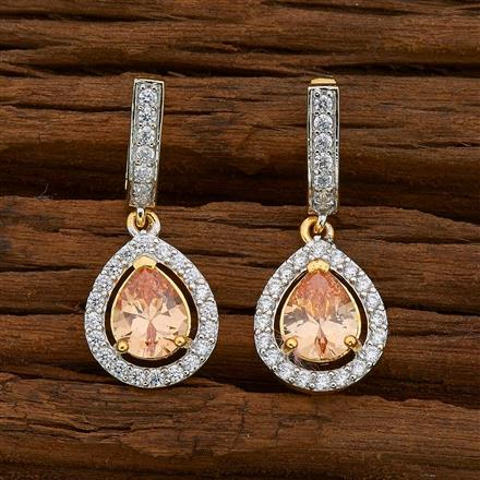 54740 American Diamond Bali with 2 tone plating