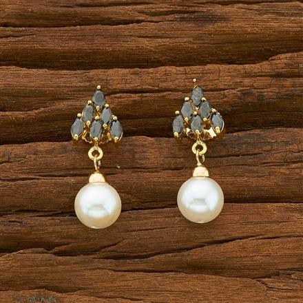 54919 CZ Delicate Earring with gold plating