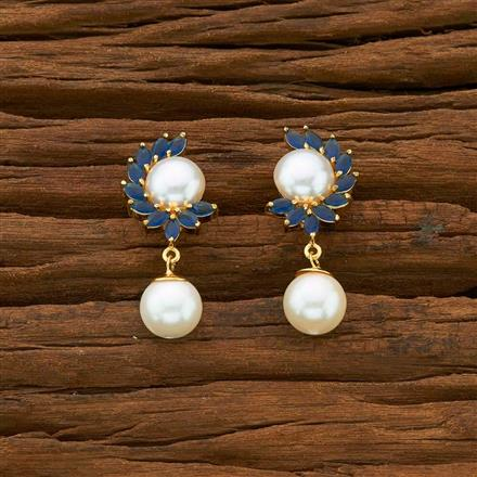54925 CZ Delicate Earring with gold plating