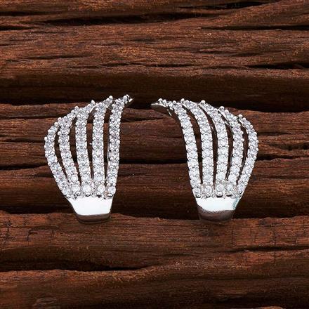 54969 American Diamond Bali with rhodium plating