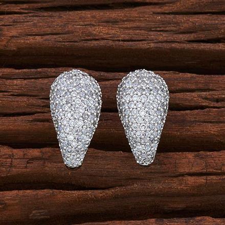 54973 American Diamond Bali with rhodium plating