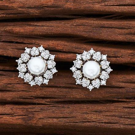 55028 American Diamond Tops with rhodium plating