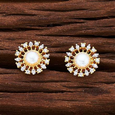 55029 American Diamond Tops with 2 tone plating
