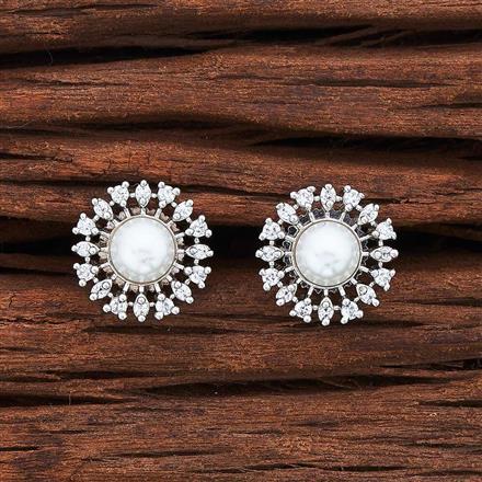 55030 American Diamond Tops with rhodium plating