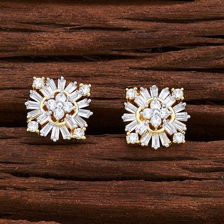 55031 American Diamond Tops with 2 tone plating