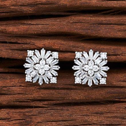 55032 American Diamond Tops with rhodium plating