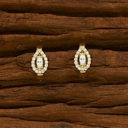 55109 American Diamond Bali with gold plating
