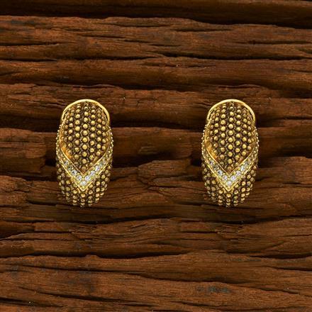 55111 American Diamond Bali with gold plating