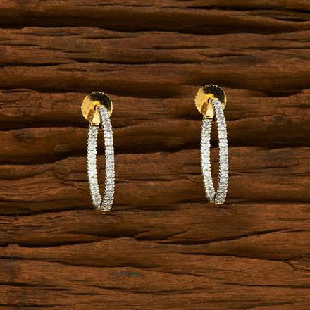 55321 American Diamond Bali with 2 tone plating
