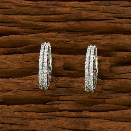 55329 American Diamond Bali with rhodium plating