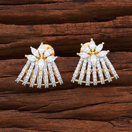 55532 American Diamond Bali with 2 tone plating