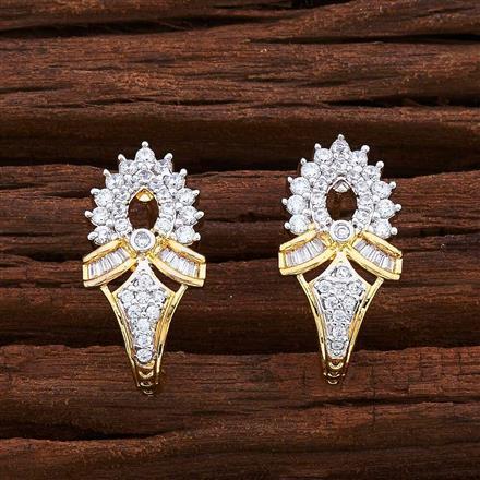 55535 American Diamond Bali with 2 tone plating
