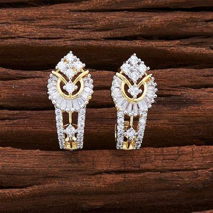 55537 American Diamond Bali with 2 tone plating