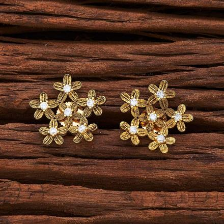 55557 American Diamond Tops with gold plating