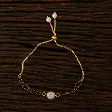 66083 CZ Classic Bracelet with 2 tone plating