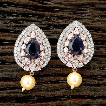 66339 Cz Tops with Rose Gold plating