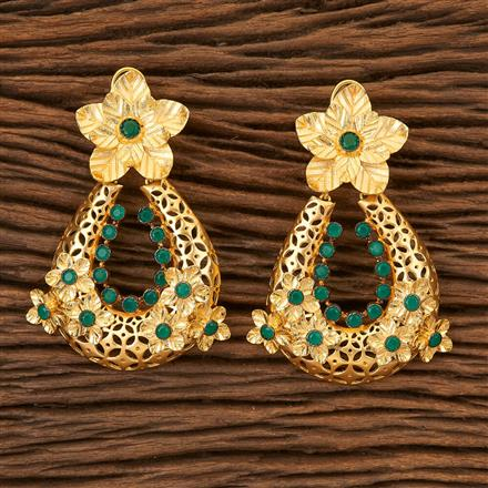 67709 Designer Classic Earring with gold plating