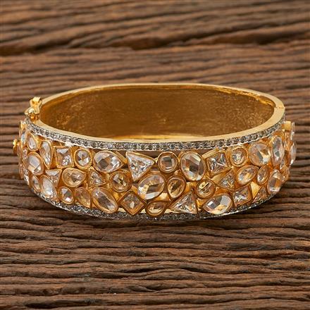69730 Designer Jewellery Classic Kada with 2 Tone plating