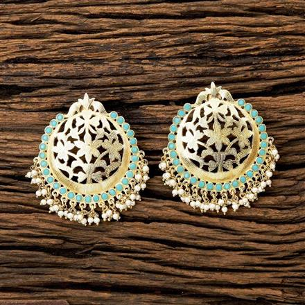 8121 Indo Western Classic Earring with gold plating