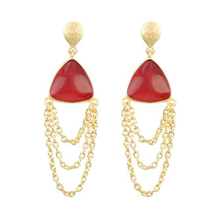 8188 Indo Western Classic Earring with gold plating
