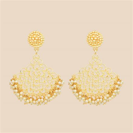 8356 Indo Western Classic Earring with gold plating