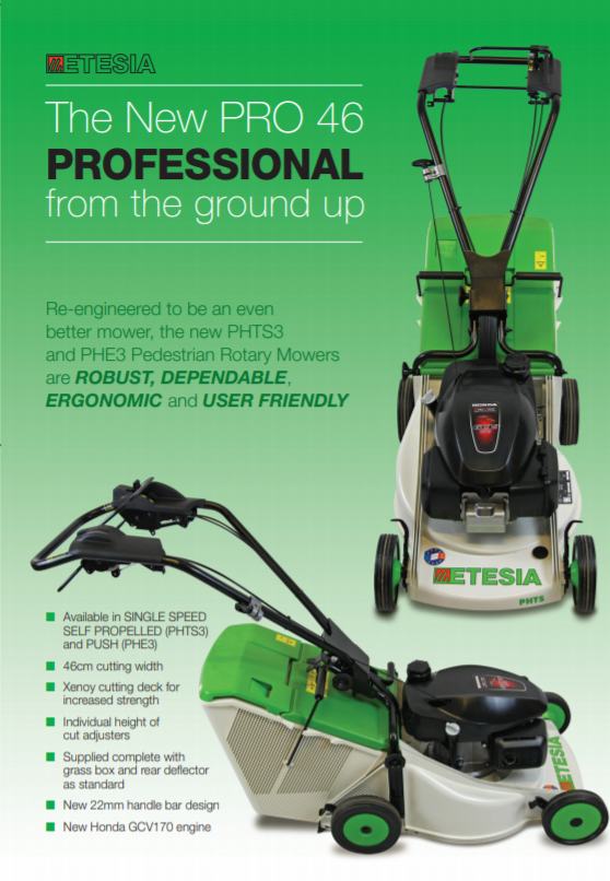 The New PRO 46 PROFESSIONAL Brochure