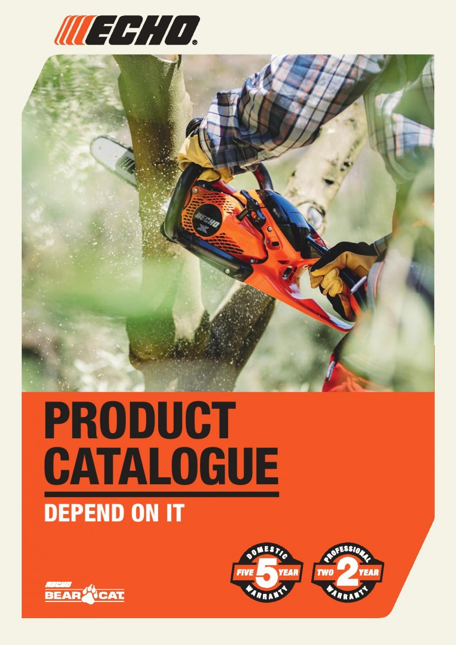 ECHO Product Catalogue Brochure