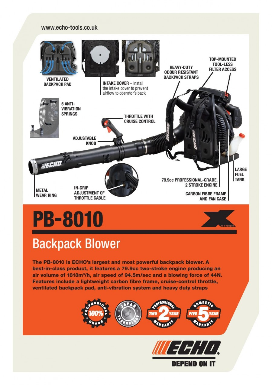 ECHO PB-8010 Brochure