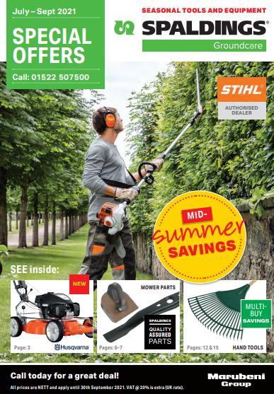 Groundcare July – Sept 2021 Offers Brochure