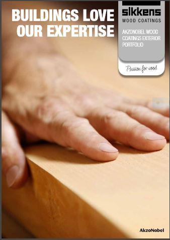 AkzoNobel Wood Coatings Exterior Portfolio Brochure
