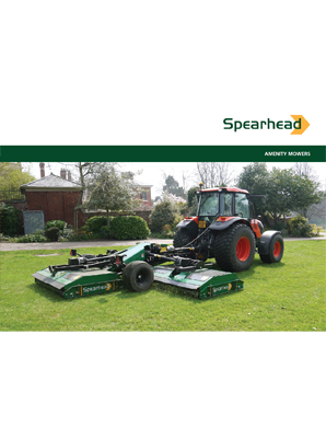 Spearhead Amenity Mowers Brochure