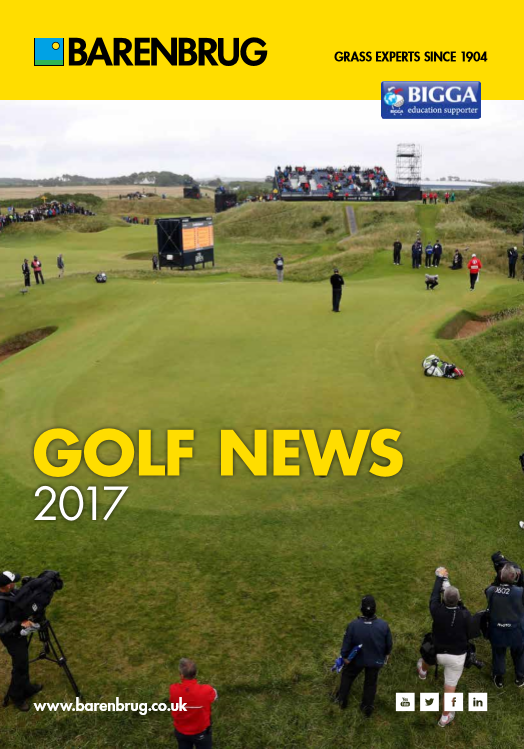 Barenbrug Golf News 2017 Brochure
