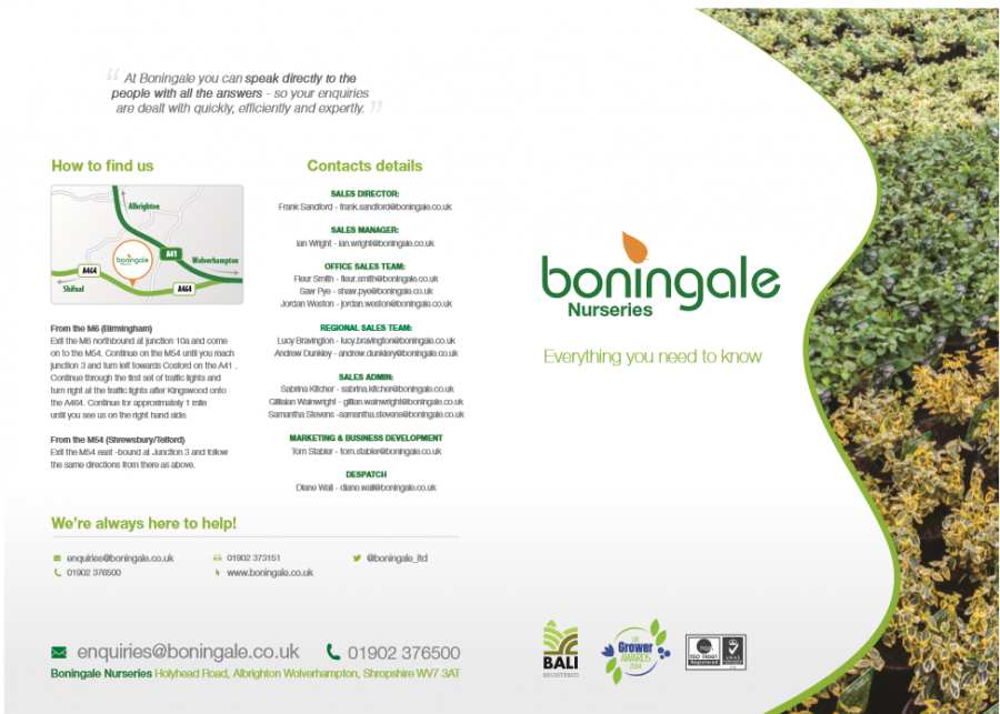 Boningale- Everything you need to know Brochure