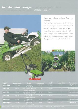 Etesia 3 Brushcutter 7 Brochure Brochure