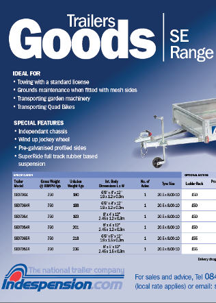 SE Goods April 2011 Brochure