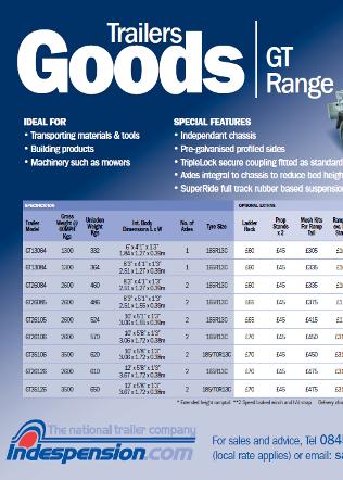 GT Goods April 2011 Brochure
