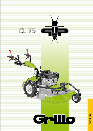 Grillo CL75 Brochure