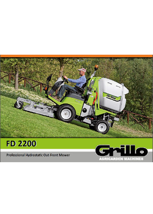 Grillo FD 2200 Brochure