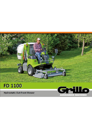 Grillo FD 1100 Brochure