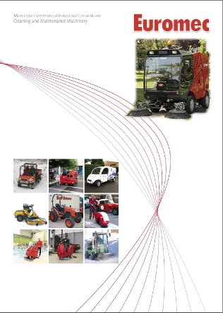 Municipal Commercial Industrial Groundcare Cleaning and Maintenance Machinery Brochure