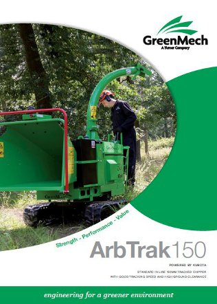 ArbTrak 150 Chipper & Shredder Brochure