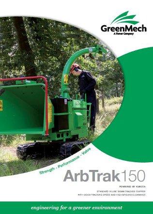 ArbTrak 150 Chipper & Shredder Brochure