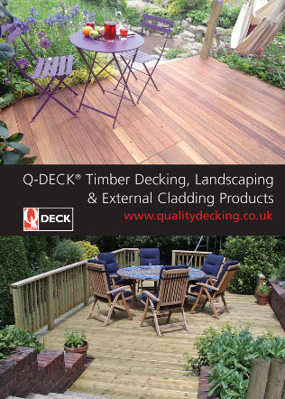 Q-Deck Hardwood Decking Brochure
