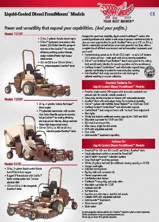 Grasshopper Zero-turn Mowers Brochure