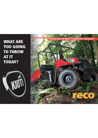 Kioti Mechron Utility Vehicle Brochure